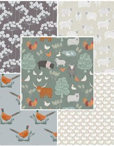 Country Life Fabric Bundle Two | Fat Quarter Pack
