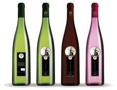 Iov Neerlands Wijnmakerij ontwerp voor nieuw wijnmerk van Nederlandse bodem. Concept en ontwerp door buro VH