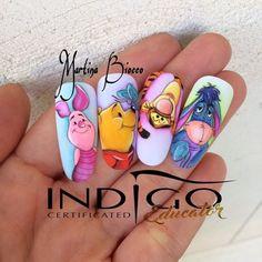No photo description available. Disney Inspired Nails, Sculpted Gel Nails, Aqua Nails, Gothic Nails, Nails Only, Fabulous Nails, Halloween Nails, Toe Nails, Nails Inspiration