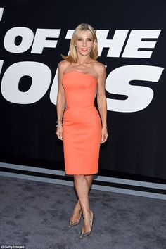 Wow: Elsa Pataky looked nothing short of a goddess at the Fate Of The Furious premiere in New York on Saturday