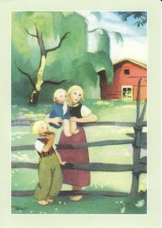 Martta Wendelin 31774 - not available Pictures To Draw, Cute Pictures, 23 November, Fence Art, Book Illustration, Vintage Postcards, Illustrations Posters, Vintage Art, Martini
