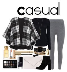 """Casual"" by amandamallie on Polyvore featuring Tory Burch, Mint Velvet, Verali, Helmut Lang, Nine West, MANGO, Simons, Topshop, Cole Haan and Maybelline"