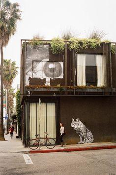 Abbott Kinney Blvd, Venice, California, a great neighborhood for eating and shopping!