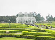 Foto por: Érica Casto Curitiba - Jardim Botânico