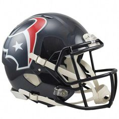 819bd3291c4 Riddell Houston Texans Revolution Speed Full-Size Authentic  football Helmet  National Football League