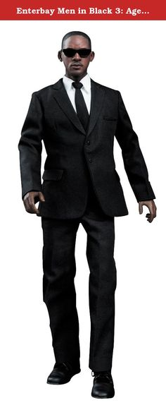 Enterbay Men in Black 3: Agent J Real Masterpiece Action Figure. ENTERBAY is honored to be the world's first official licensee to produce the 12-inch Men In Black movie merchandise figurines. One of the Agents - J was the first time that Mr. Will Smith authorized a figurine company to use his likeness for production. Smith was personally involved for the head sculpt approval procedures, and he was pleased with the out come. Apart from the authentic likeness head sculpture, this product…