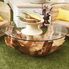 Let the organic beauty of teak wood accent your living space with our natural Broll Coffee Table. Tree Coffee Table, Large Coffee Tables, Theme Nature, Interiors Magazine, Tiered Stand, Traditional Furniture, Wood Accents, Wisteria, Organic Beauty