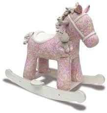 Image result for shabby chic rocking horse ebay