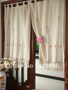 Find More Curtains Information about Hand embroidery curtain window /door decoration with hand  Crochet Lace, one piece  style  SIZE:100X140cm,High Quality curtains fancy,China curtain lace Suppliers, Cheap curtains bed from comeon li's store on Aliexpress.com