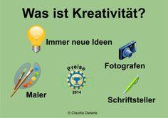 Bild zum Blogeintrag Was ist Kreativität? auf http://www.tipptrick.com/2014/01/27/claudias-praktischer-ratgeber-blogparade-kreativität/