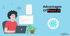 Now you got to know all the benefits of using ReactJS. These advantages of React JS is what made it so popular and widely used. Since the Giants like Facebook and Instagram also support it, it has gained constant evolution, and hence it is more advanced by the minute. Most of the people prefer ReactJS because of its various benefits and also its awesome features. ReactJS is also used by a lot of high traffic websites and gained so many users within a short span of time. Front End Design, Web Technology, Like Facebook, Web Application, Getting To Know, User Interface, Web Development, Evolution, Popular