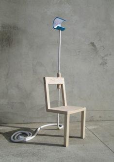 New Zealand designer Glen Lewis-Steele has created the Lambent Chair.