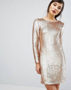 e7e948c8e4 LOVE this from ASOS! Metallic Bridesmaid Dresses