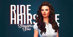 Ride Hairstyle Simplified simi Dowload below… this is just an edit of the hair that came with pets to fit a very lana del rey esque hair from her ride music video. I will probably edit this with one...
