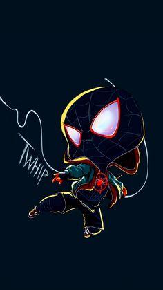Miles Morales - Ultimate Spider-Man, Into the Spider-Verse Comics Spiderman, Spiderman Girl, Avengers Cartoon, Marvel Cartoons, Black Spiderman, Spiderman Spider, Amazing Spiderman, Nerdy Wallpaper, Avengers Wallpaper