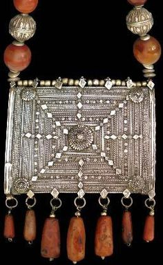 Omani necklace - put it in a frame