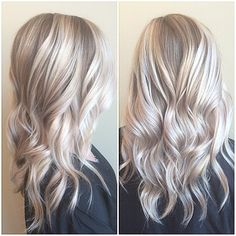 Icy blonde/blonde and silver