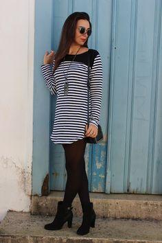 Nanda Pezzi - listras + bota