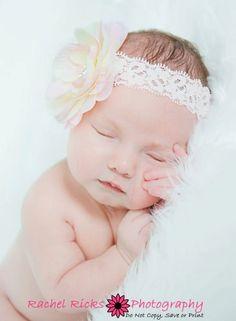 Baby Headband  Newborn Headband  Infant by PattiCakeBowtique, $8.95