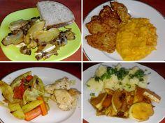 Patizon, recepty. Bělavé létající talíře nebo snad ozdobné atletické disky? To jsou patizony (patisony), oblíbená podzimní plodina vhodná k všemožným úpravám. Vyzkoušíte recept na patizon opékaný s Tacos, Mexican, Meat, Chicken, Vegetables, Ethnic Recipes, Vegetable Recipes, Mexicans, Veggies