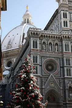 Inverno a Firenze  (2010) - Winter in Florence by Cuttysark974, via Flickr