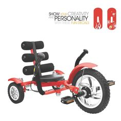 Mobo Mini Luxury Three Wheeled Cruiser Enhances hand-eye coordination and increases arm and leg muscle strength