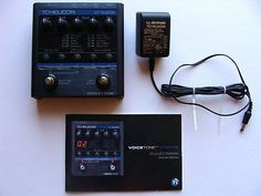 Up for auction is my TC Helicon Voicetone Create vocal processor. It is in excellent condition and comes with the manual and adapter. Check out the photos. Sorry, no box.  I am selling this because I no longer need it. It is awesome and works great.     If you are looking at this auction, you probably no what this pedal does. Just in case, here's the manufactures decsription. Free Shipping.