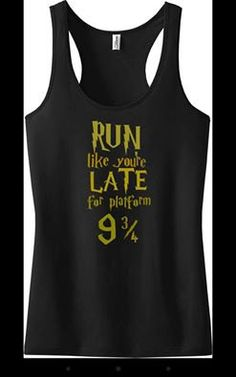 Run Like You're Late for Platform 9 3/4