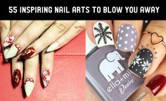 As the new year has begin, So you probably looking for some new nail art inspiration. We bring you the most top rated nail designs from all over the web.