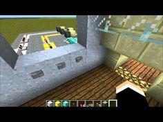 Minecraft Redstone - Timed Locked Door - Redstone Game - http://dancedancenow.com/minecraft-lan-server/minecraft-redstone-timed-locked-door-redstone-game/