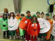 disfraz de frutas
