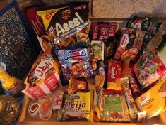 Candy For Sale, Salty Snacks, Candy Cookies, Snack Box, Makeup Obsession, Taste Of Home, The Middle, Saudi Arabia, Syria
