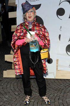 Anna Piaggi Dead Italian Vogue Contributor Dies At Home (Vogue.com UK)RIP Dahling!