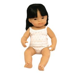 Asian Baby Girl Doll #limetreekids