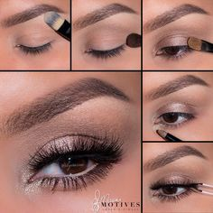 Soft, natural makeup look using Motives In The Nude palette | thebeautyspotqld.com.au
