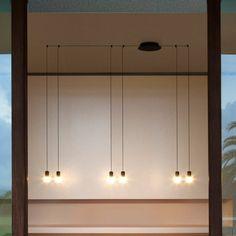 Vibia- Vibia Wireflow Free Form Pendant|Pendants| Darklight Design | Lighting Design & Supply