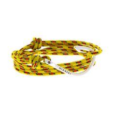 Miansai   Sterling Silver Hook Yellow - STERLING SILVER HOOK ON 100% NYLON MARITIME ROPE   $115.00
