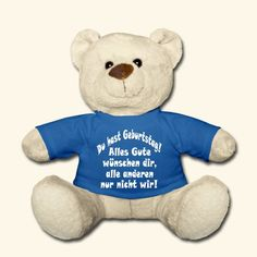 Latin is my secret language - in Latin Teddy Bear ✓ Unlimited options to combine colours, sizes & styles ✓ Discover Teddy Bear Toys by international designers now! T Shirt Designs, I Love Music, La Petite Boutique, Chic Et Choc, Baby Accessoires, Teddy Bear Toys, My First Christmas, Sissi, Quality T Shirts