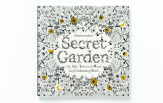 Secret Garden - An Inky Treasure Hunt & Colouring Book -- Coloring book for grown-ups, yes please