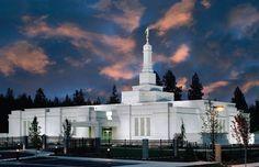 Spokane Washington Temple, been inside