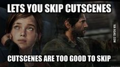 The Last of Us aka DAMN IT I need a PS3 now.  PS3 for The Last of Us VS Next-Gen console... ouch.