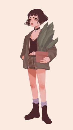 47 Mathilda and Leon Illustration Ideas - Art Character Modeling, 3d Model Character, Character Concept, Concept Art, Character Design, Leon The Professional Mathilda, The Professional Movie, Cartoon Drawings, Art Drawings