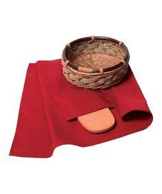 Look what I found on #zulily! Tortilla/Bread Warmer Basket #zulilyfinds