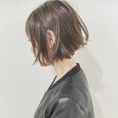 Pin on 髪型 Girl Short Hair, Short Hair Cuts, Short Hair Styles, Cut My Hair, Love Hair, Short Bob Hairstyles, Messy Hairstyles, Oval Face Haircuts, Hair Arrange