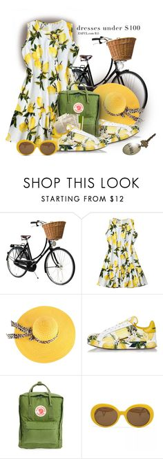 """Lemonade"" by interesting-times ❤ liked on Polyvore featuring Dolce&Gabbana and Fjällräven"