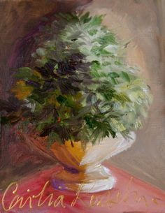 topiary painting @Cecilia Rosslee