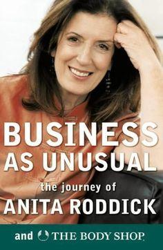Anita Roddick // inspiring woman.