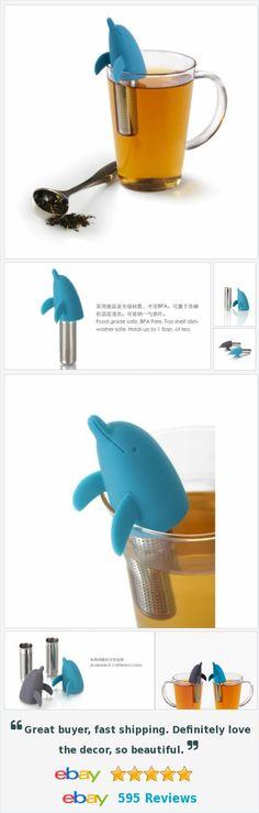 #dolphin #tea infuser tea strainer brewer #noveltygift #design teal turquoise. http://www.ebay.com/itm/Blue-Dolphin-Tea-Infuser-Tea-Strainer-Brewer-novelty-gift-design-Teal-Turquoise-/182160438114