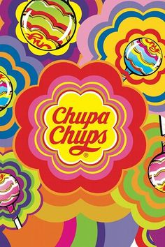 Chupa Chups. Repetition is everything in this lively ad.