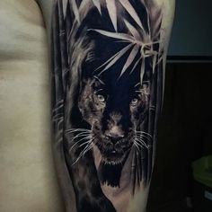 105 best Black panther tattoo images | Wild animals, Black panther ...